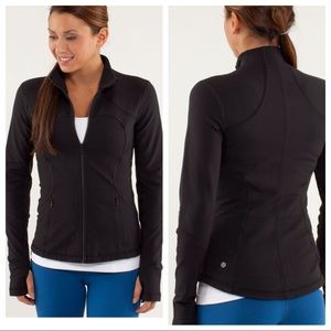 Lululemon Forme Jacket *Brushed Black Sz.10